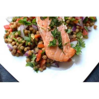 Lentil & Coriander Salad
